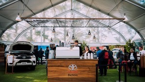 It's game on at Toyota's Fieldays stand