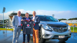 Mazda joins Vodafone Warriors