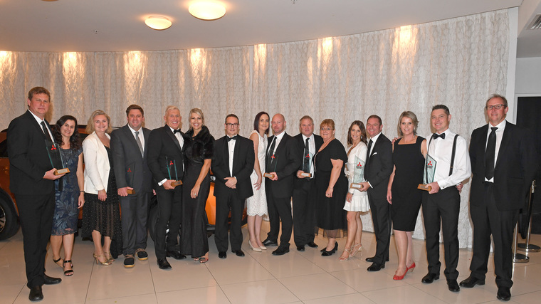 Top-performing dealers celebrated