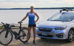 Triathlete Hannah Wells joins Subaru