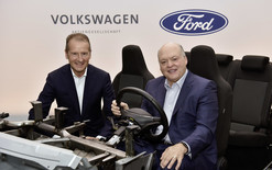 Ford and Volkswagen team up on EVs
