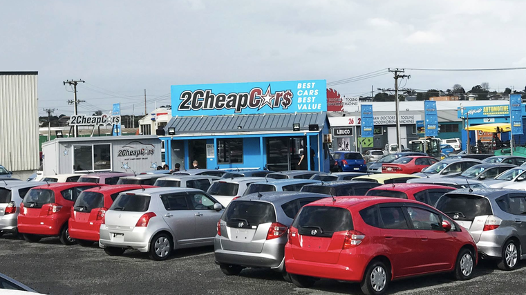 2 Cheap Cars charged