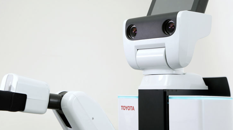 Toyota to develop helper robots