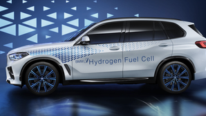 BMW teases fuel-cell X5