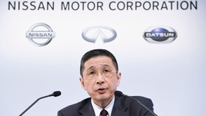 Nissan CEO bows to pressure
