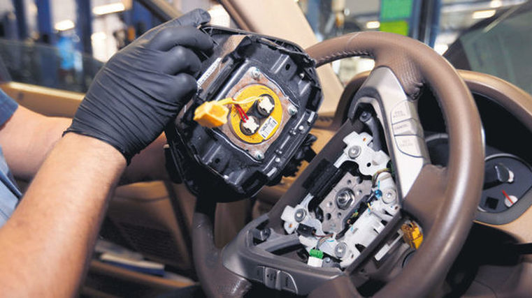 WOF failures for Takata airbags