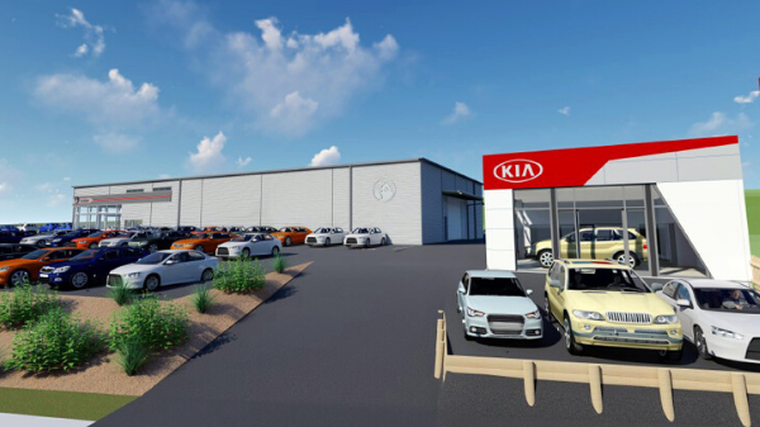 Kia opening third dealership in Wellington