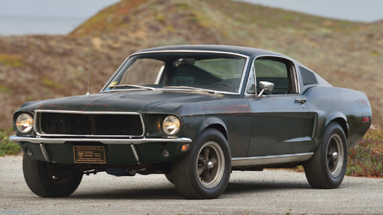Mustang from Bullitt smashes auction record