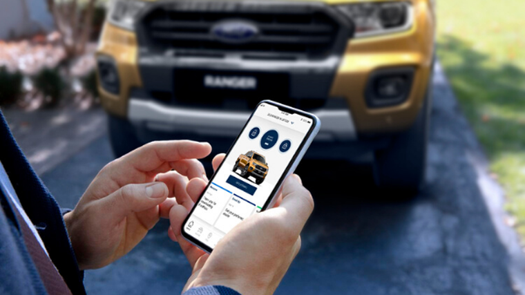 Ford connecting customers with their utes