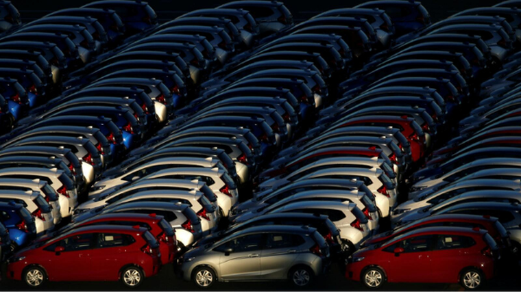 New car imports from Japan up