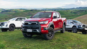 Hilux storms to top spot